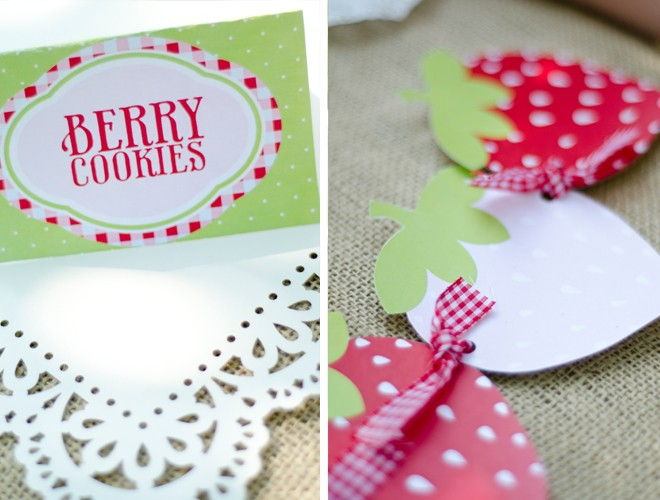 A Berry Strawberry Party by Love The Day