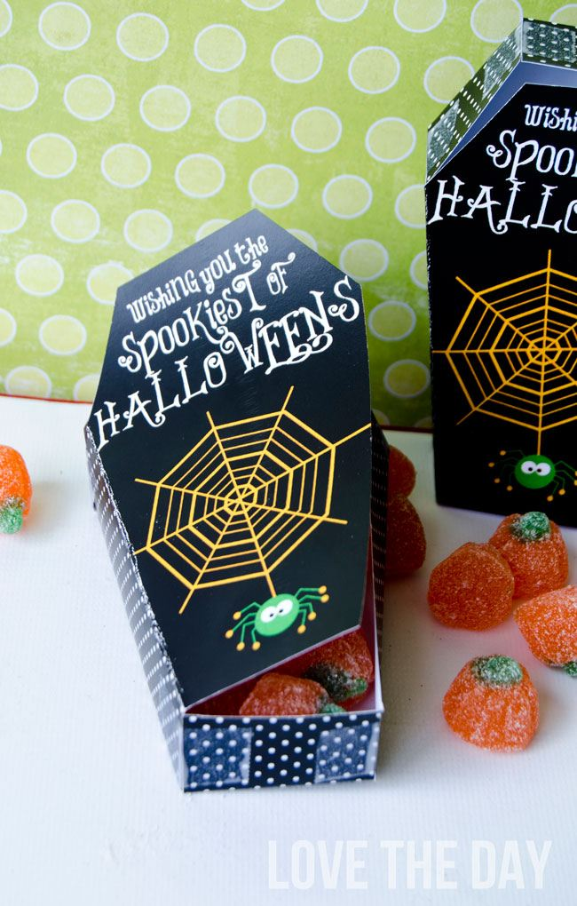 Halloween Coffin Box FREE PRINTABLE by Love The Day