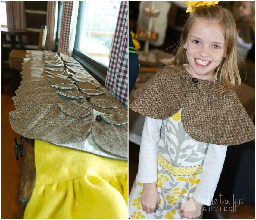 Nancy Drew Party Capes