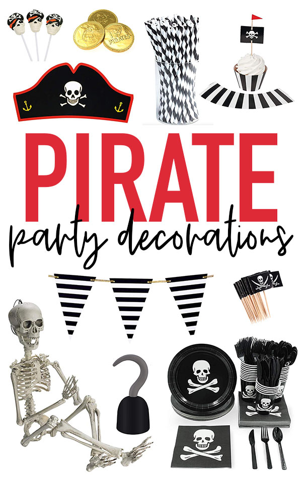 Pirate Party Decorations on Love The Day by Lindi Haws