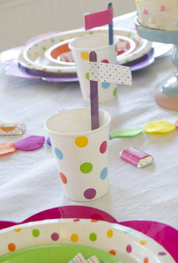 Polka Dot Birthday Party by Love The Da