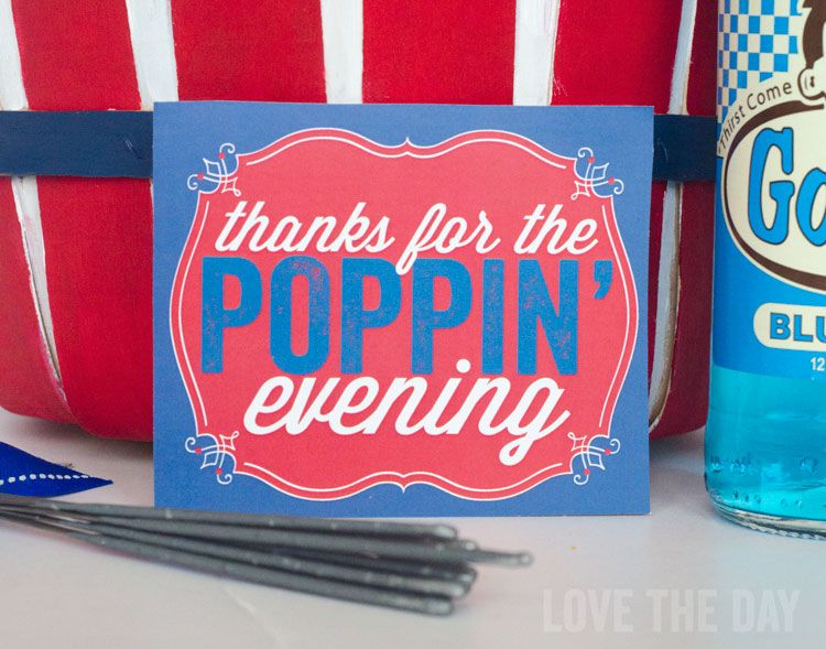 Hostess Gift Basket with Michaels & FREE Printable by Love The Day
