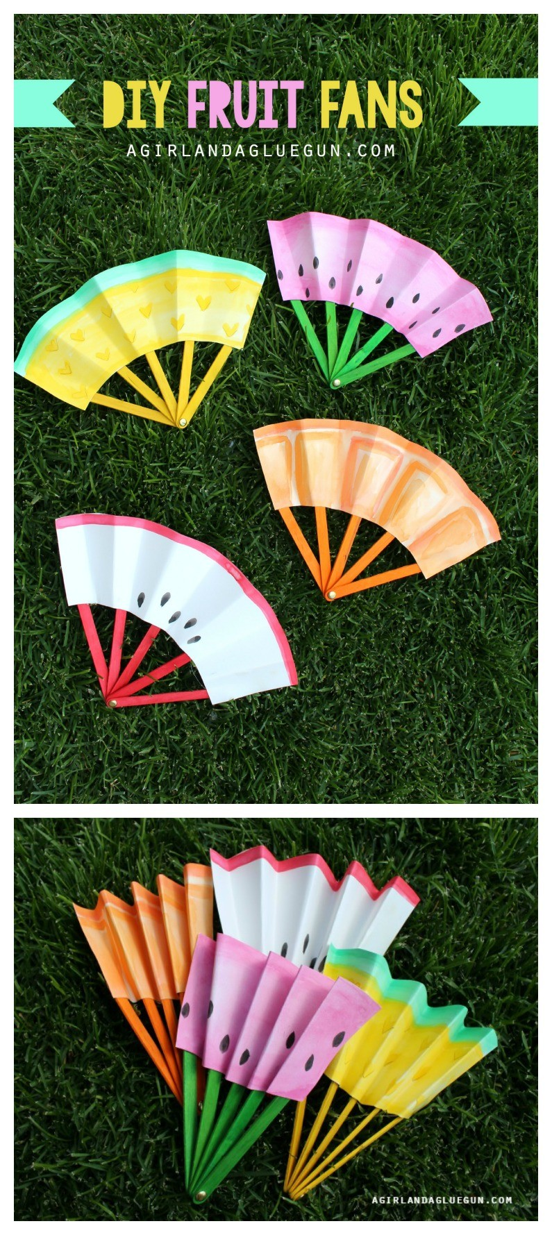 12 Easy Summer Crafts for Kids on Love the Day