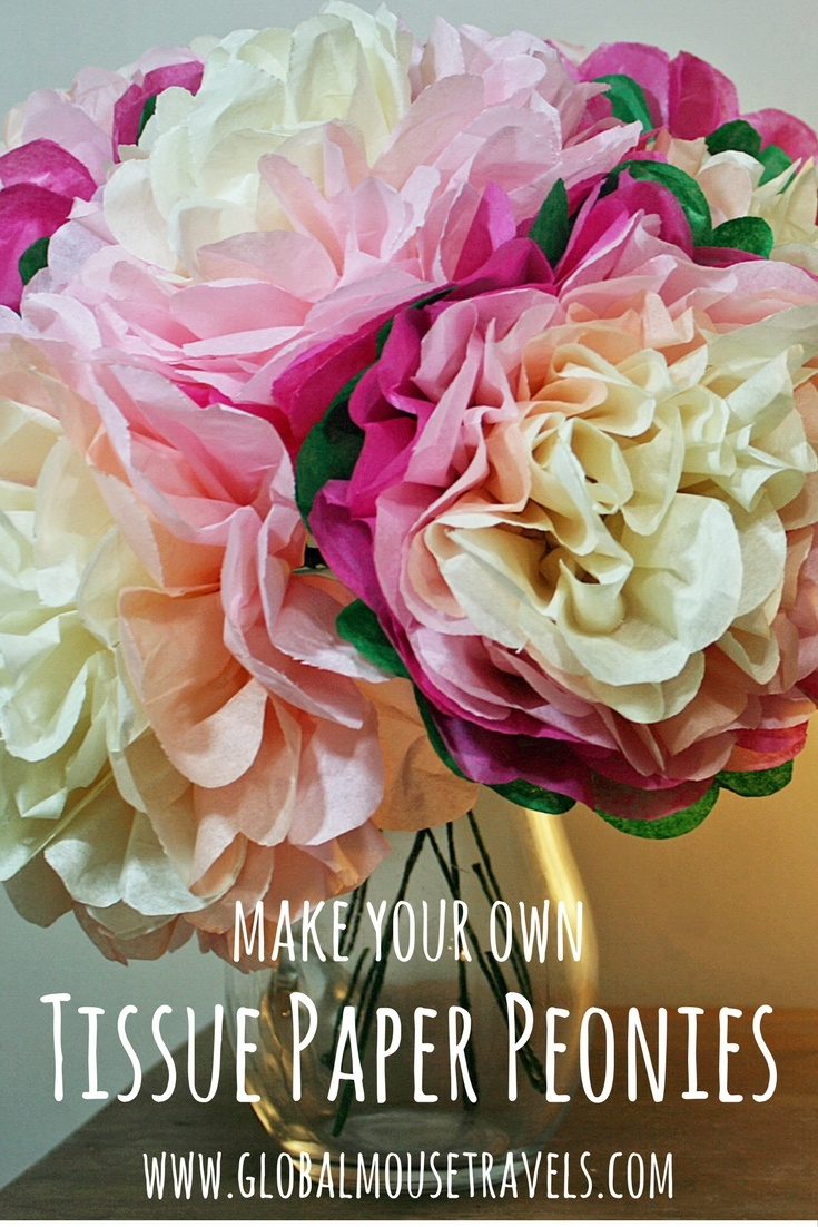 12 Tissue Paper Flowers to Make on Love the Day