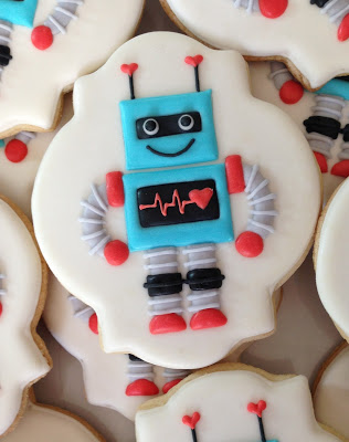 Robot Birthday Party Ideas by Lindi Haws of Love The Day