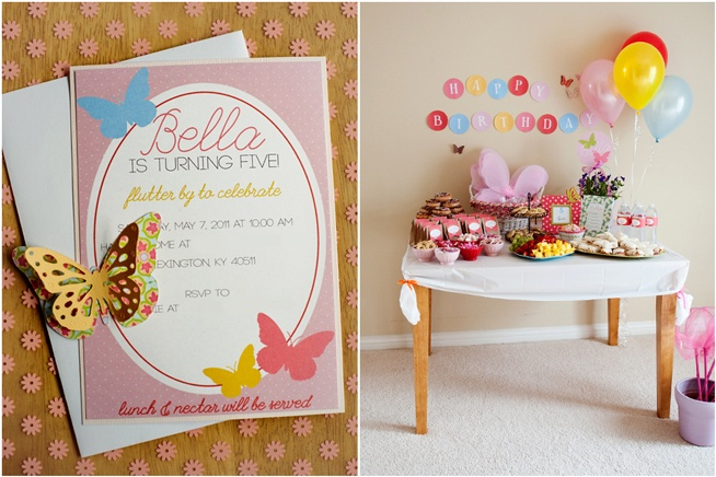 DIY Butterfly Party Ideas on Love The Day