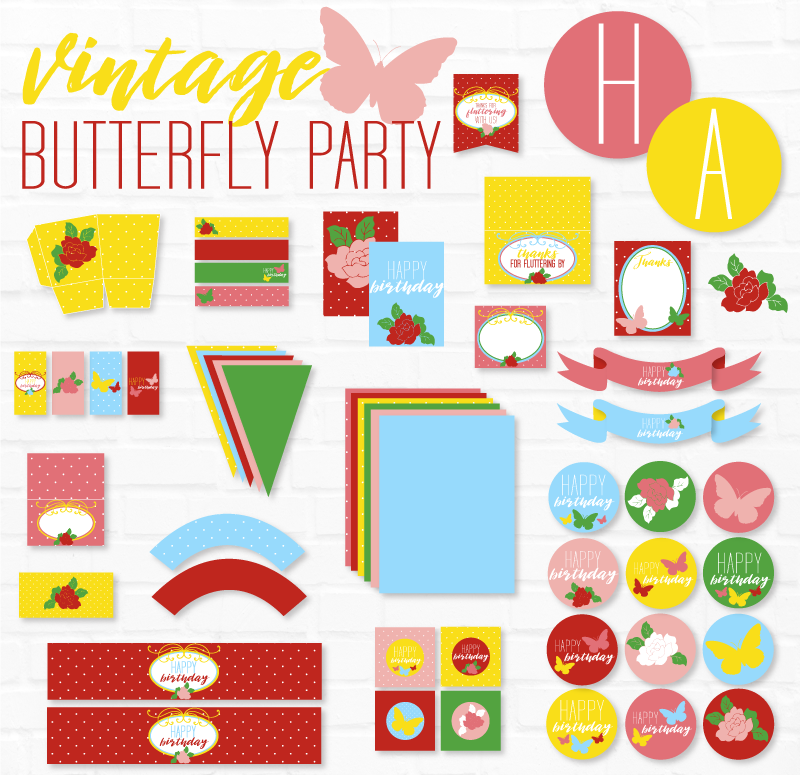 Butterfly Party Ideas on Love The Day by Lindi Haws
