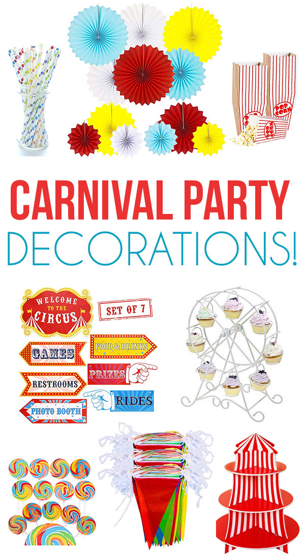 Circus Party Ideas by Lindi Haws of Love The Day