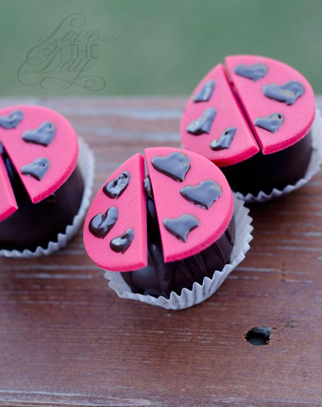 Ladybug Party Treats by Love The Day