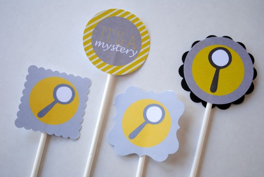 Dress Up Your Party with Cupcake Toppers