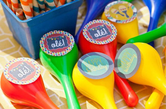 Fiesta Party Favors with Love The Day Printables