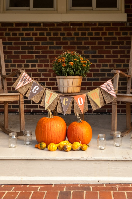 Fall Birthday Party on Love The Day