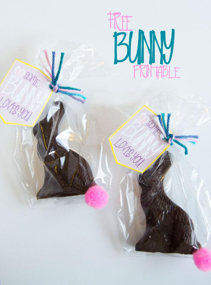 'Some Bunny Loves You' FREE Easter Printable by Love The Day