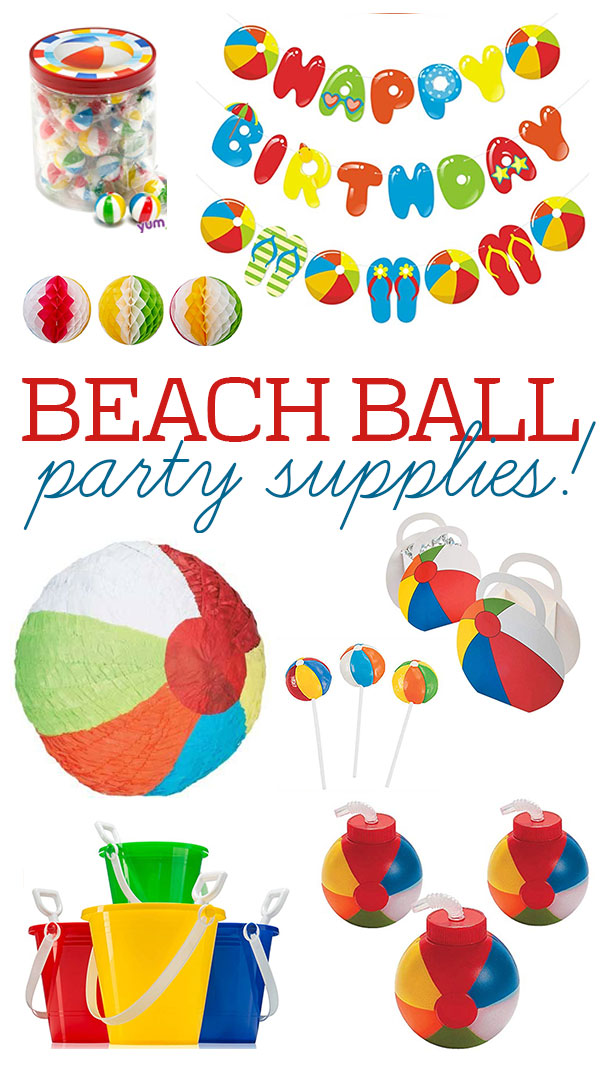 Beach Ball Party Ideas by Lindi Haws of Love The Day