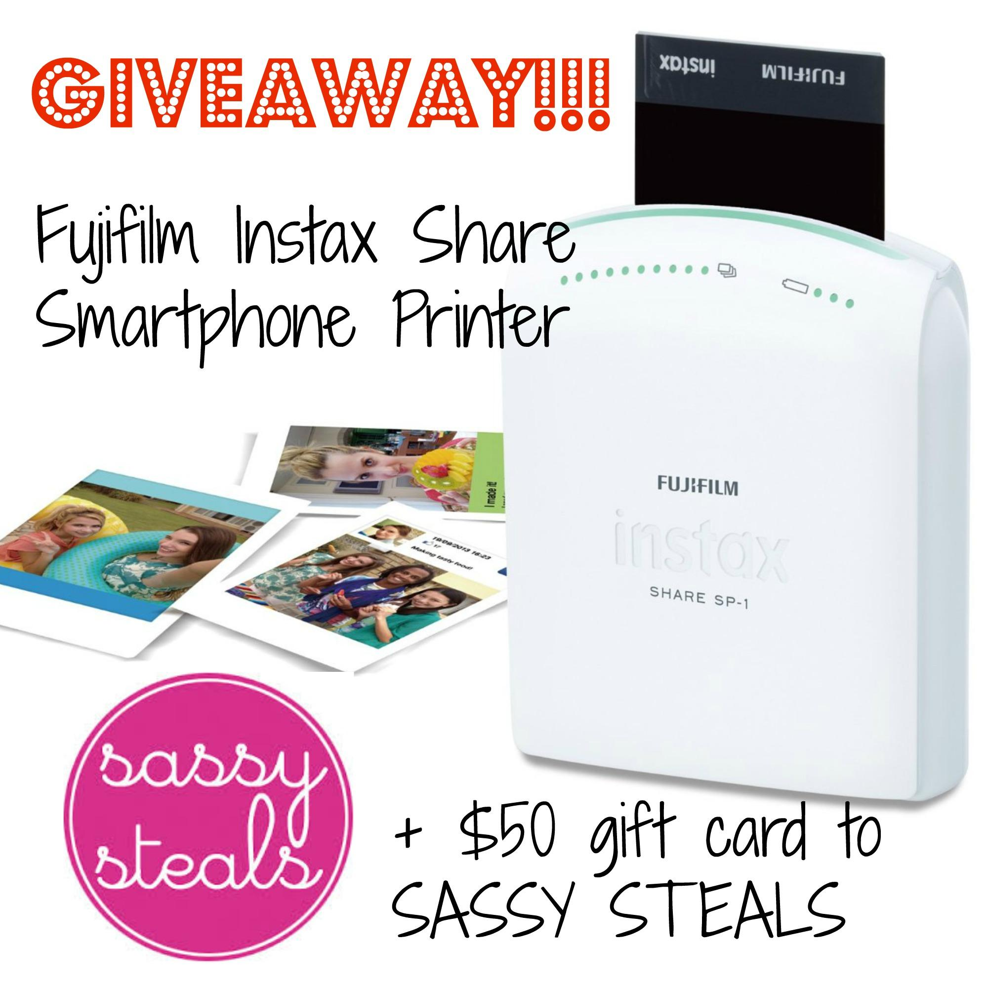 Smartphone printer giveaway