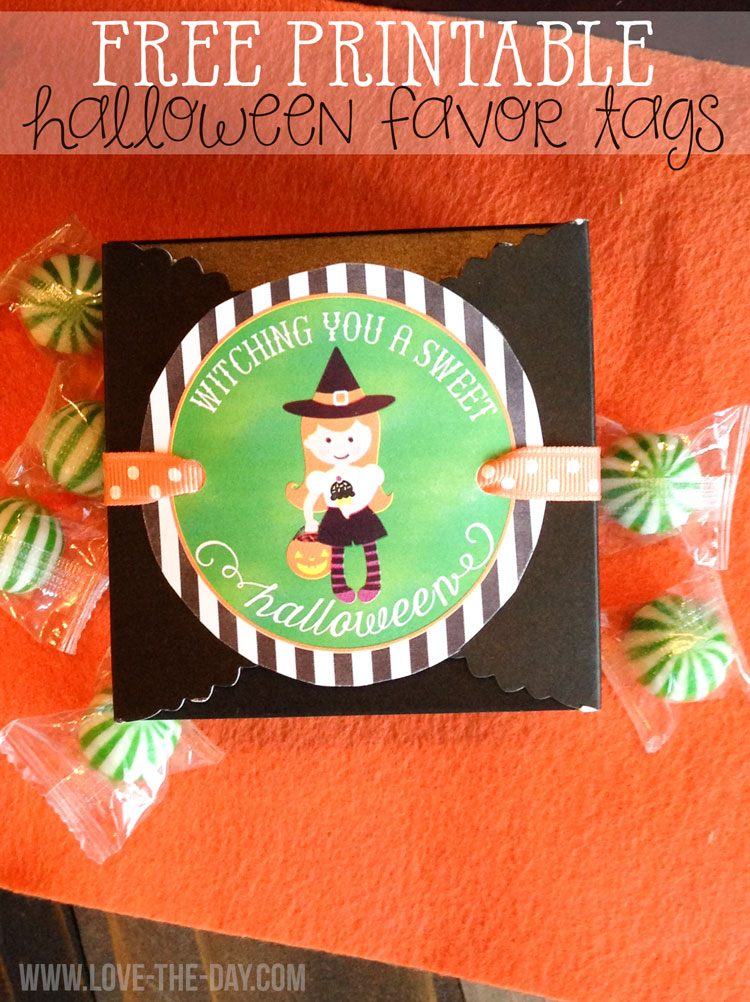 FREE Halloween Printables by Love The Day