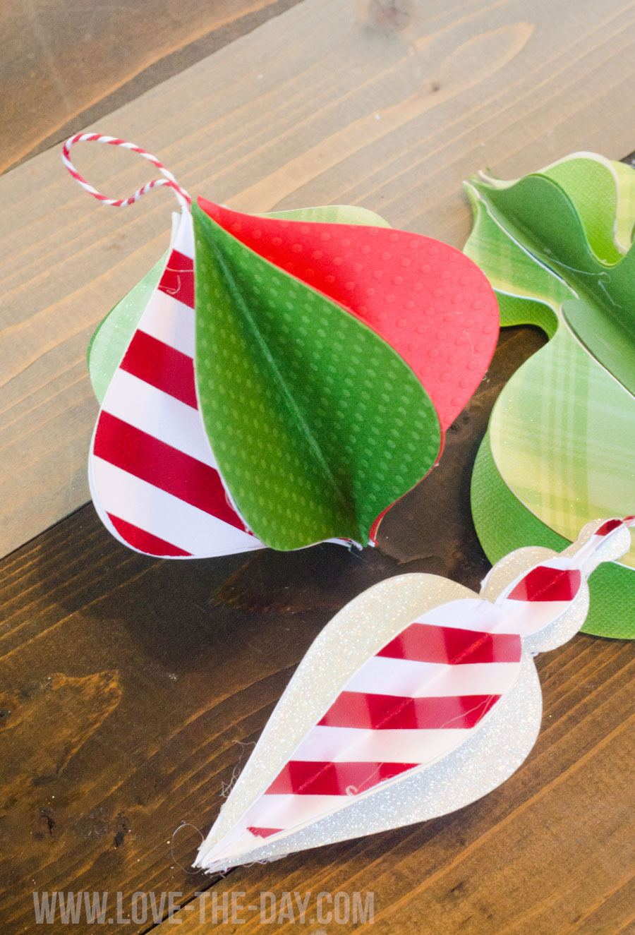 DIY Paper Ornament by Love The Day