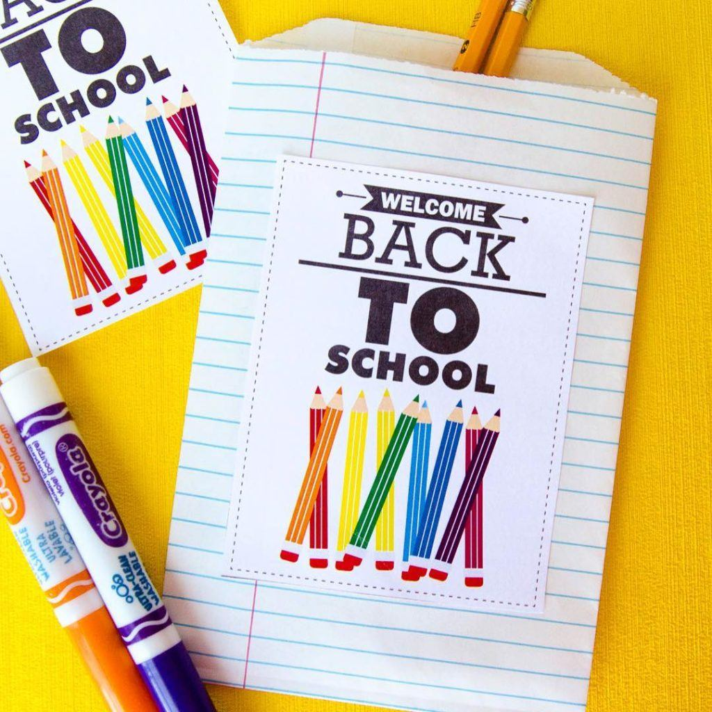 Welcome Back To School Printable by Lindi Haws of Love The Day