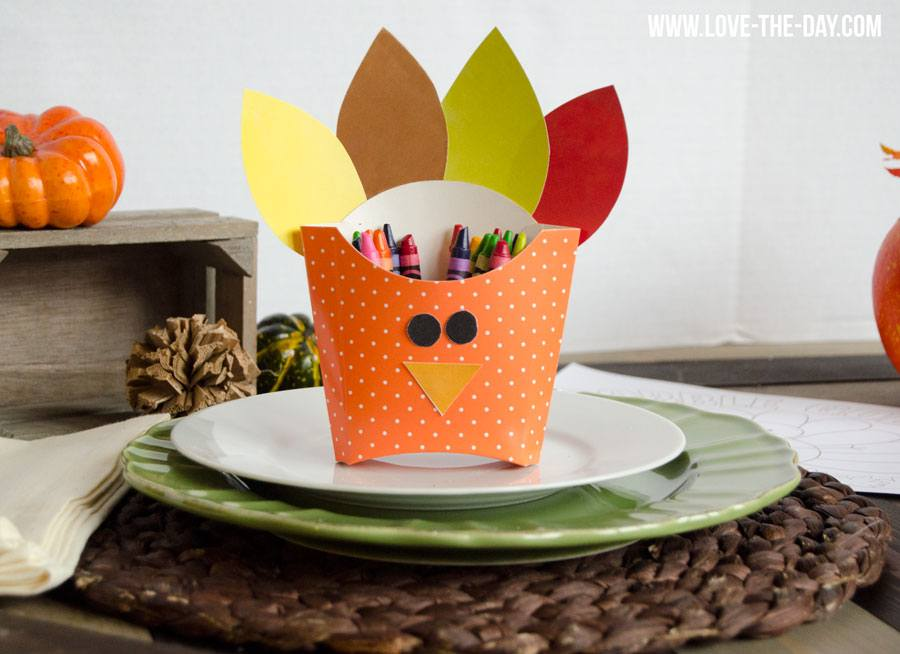 DIY Turkey Box for Kids Crafts by Lindi Haws