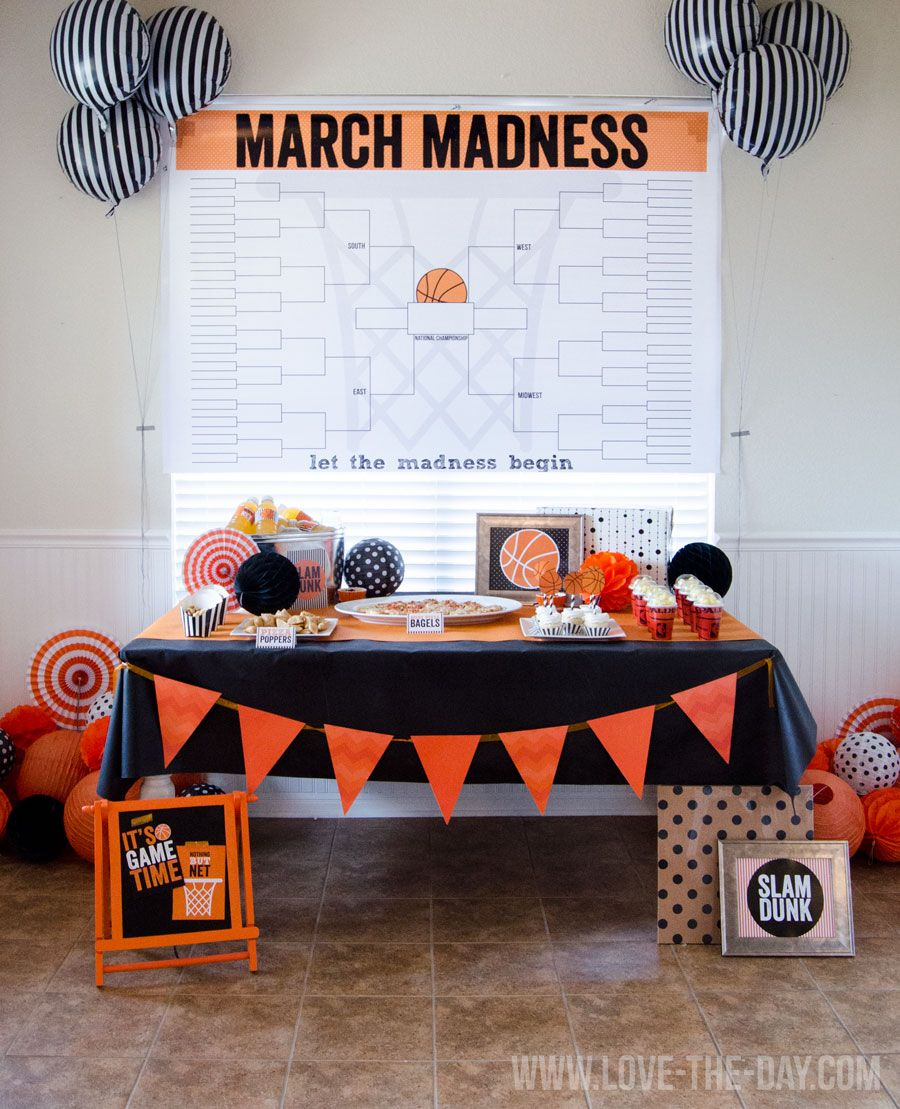 Basketball party ideas & a $400 giveaway from annie's!