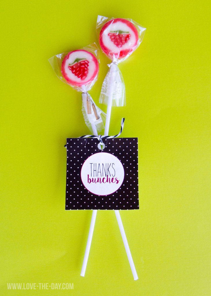 Thanks Bunches FREE Printable Favor Tags