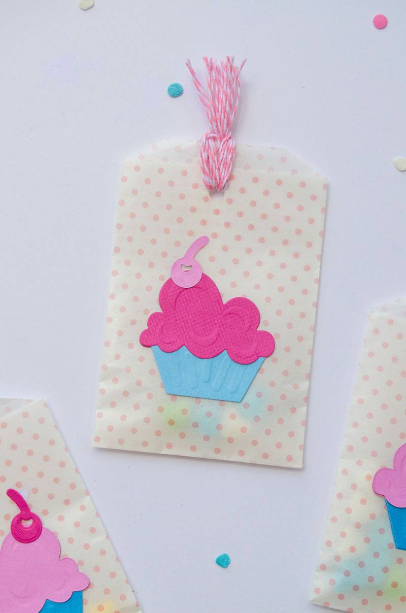 Cupcake Birthday Party Favors by Lindi Haws of Love The Day