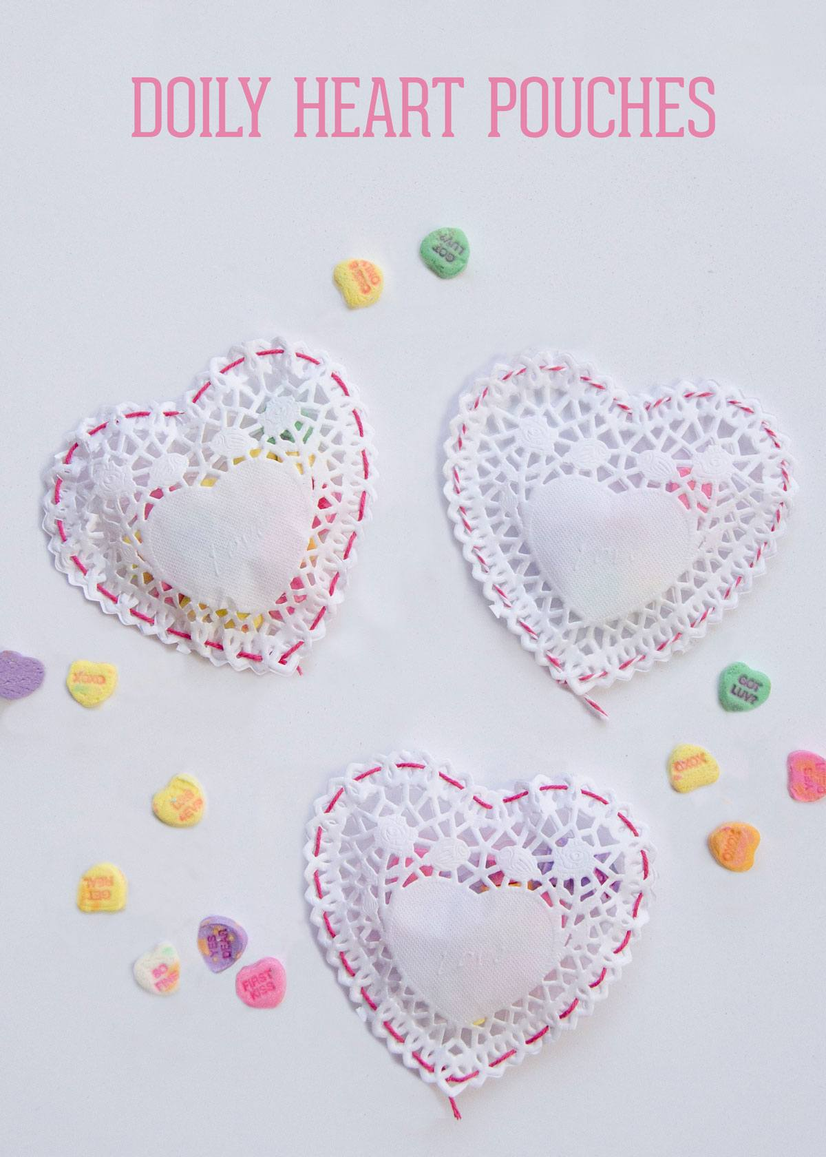 Doily craft ideas by lindi haws of love the day