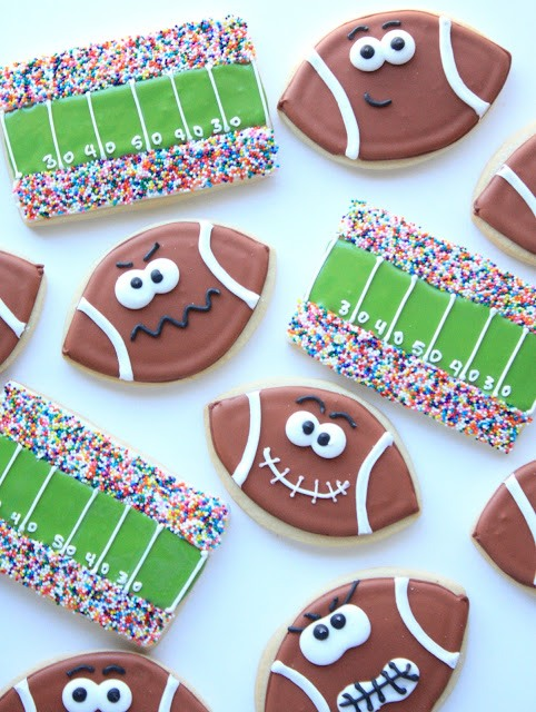 Football & Field Cookies
