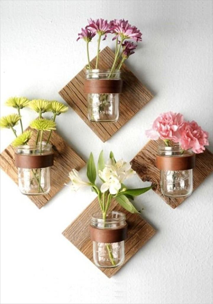 10 DIY Mason Jar Crafts on Love the Day