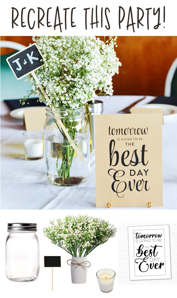 Best Day Ever Rehearsal Dinner Idea on Love The Day