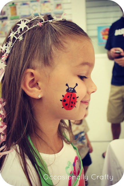 Face Painting Kids Birthday Party Ideas On Love The Day - Simple face painting