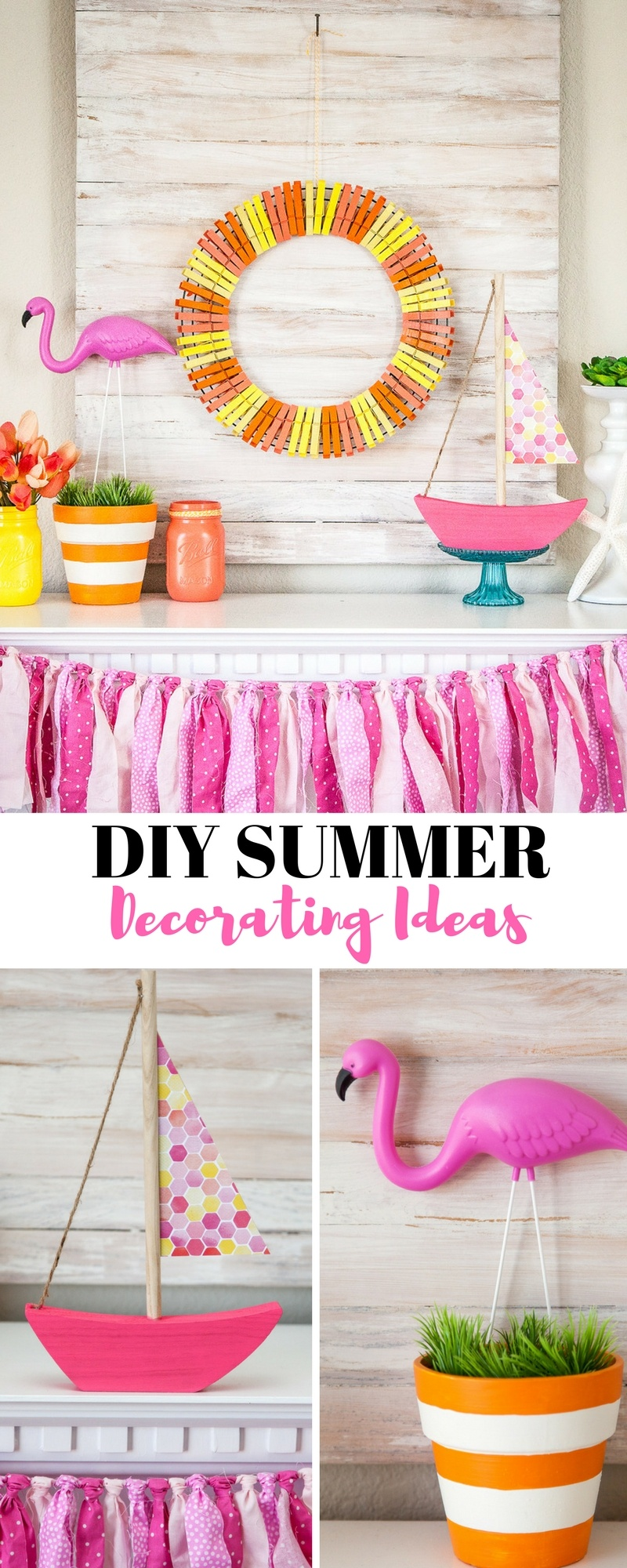 DIY Summer Decorating Ideas by Destro Photography on Love the Day