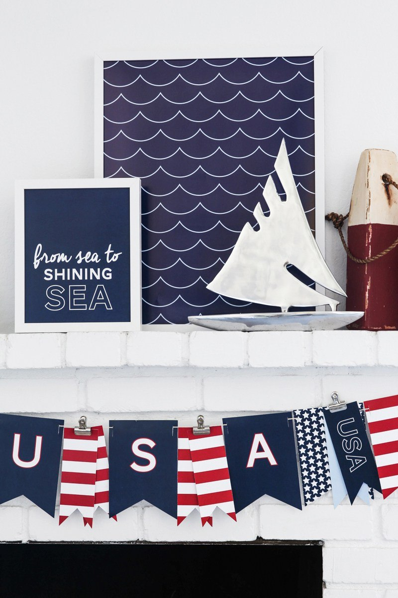 15 free printable 4th of july decorations