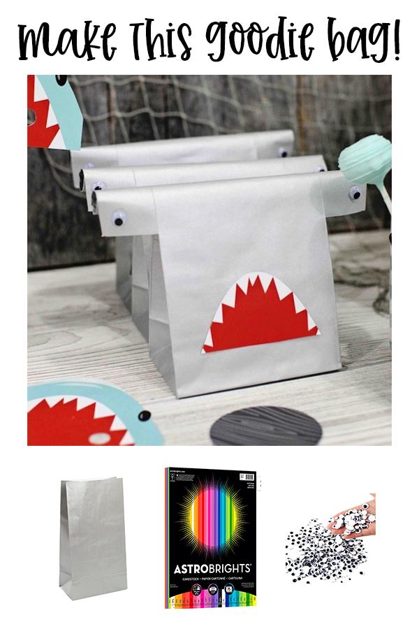 Shark Party Goodie Bag Ideas