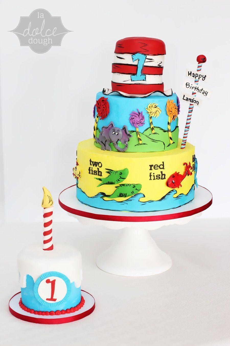 Dr. seuss 1st birthday party ideas