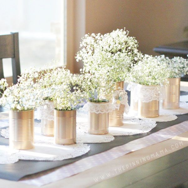 Easy Centerpiece Ideas for a Dinner Party on Love the Day