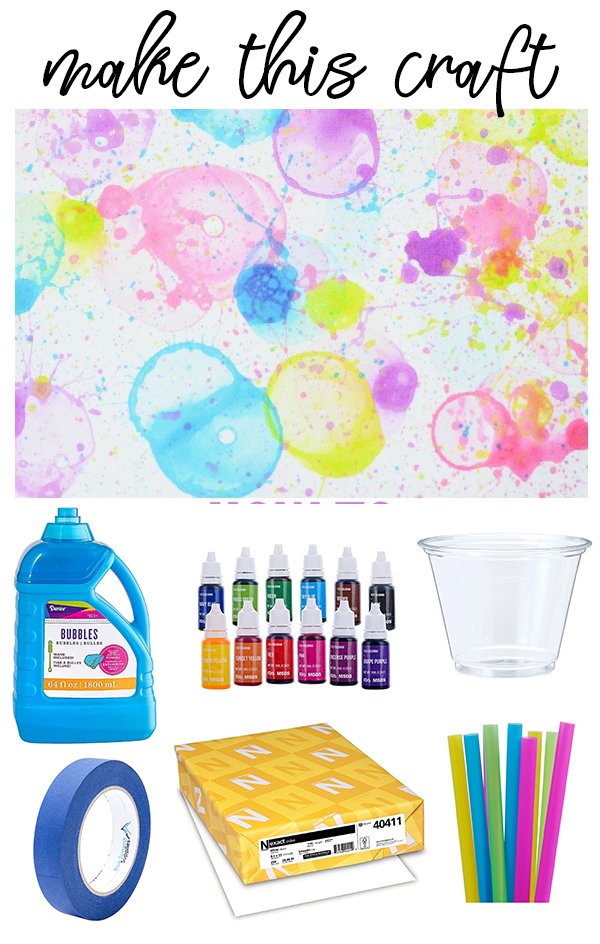 Summer Bubble Craft on Love The Day