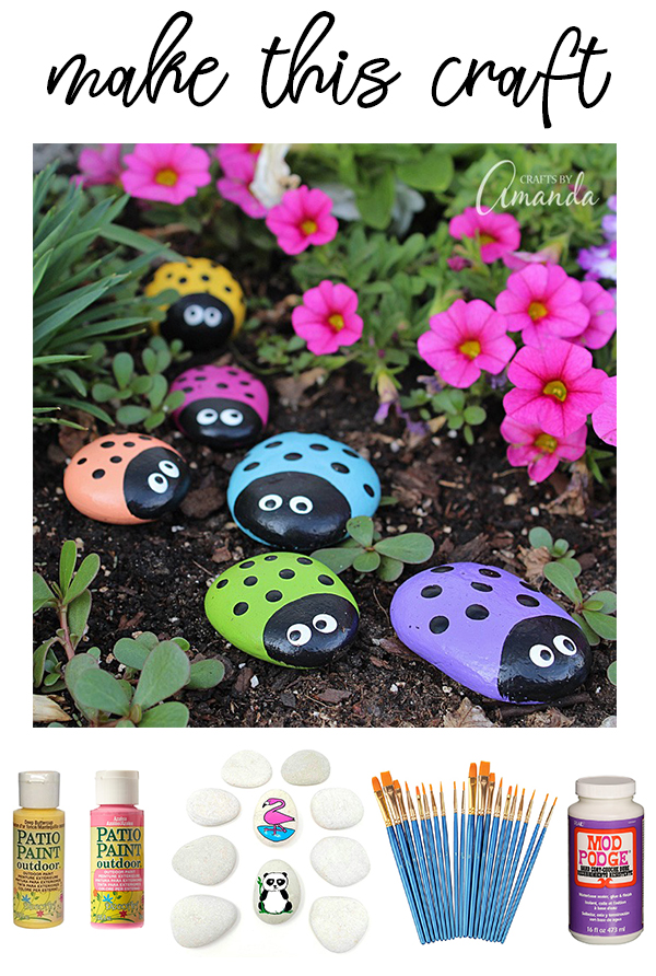 How To Paint Rocks on Love The Day