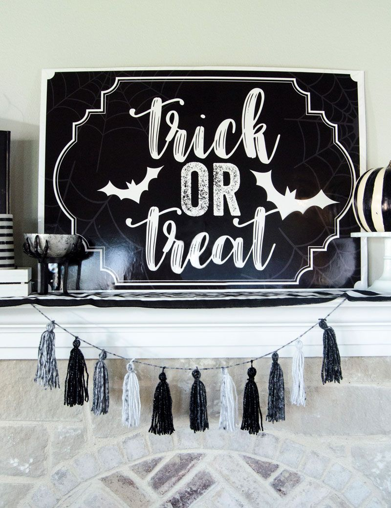 FREE Printable Halloween Backdrop by Lindi Haws of Love The Day