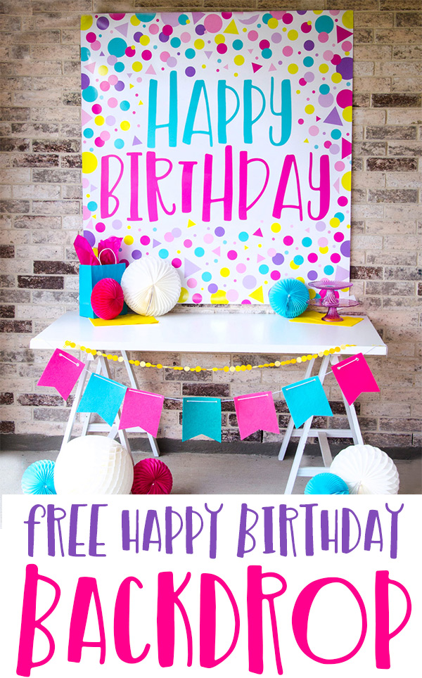 Colorful Birthday Party Ideas by Lindi Haws of Love The Day