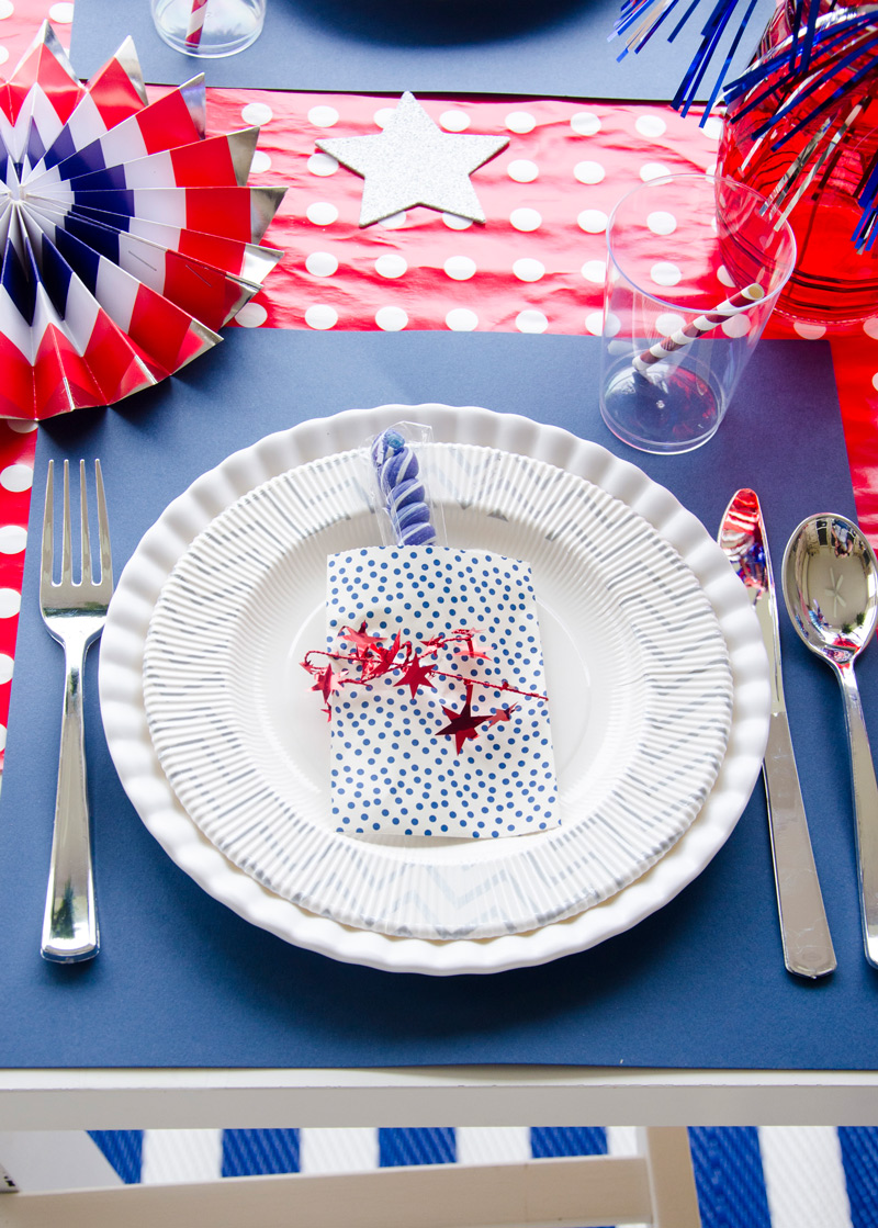 4th of July Party Decorating Ideas by Lindi Haws of Love The Day