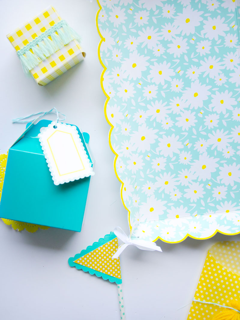 Cricut Birthday Party Ideas by Lindi Haws of Love The Day