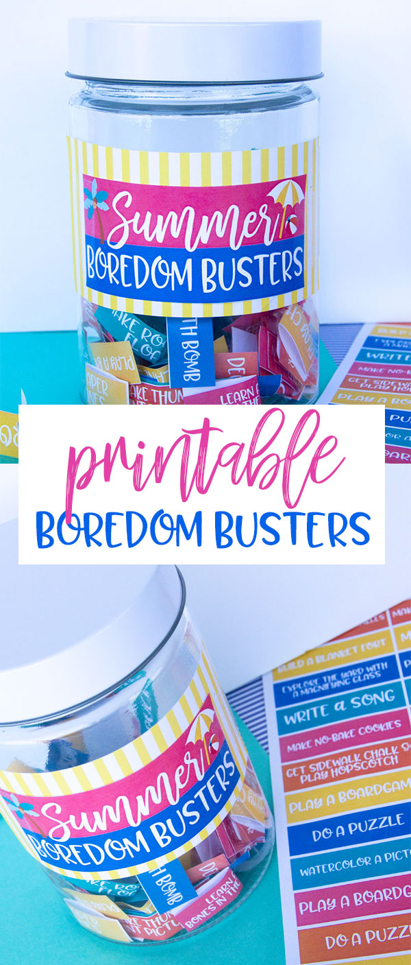 Summer Boredom Busters & FREE PRINTABLE by Lindi Haws of Love The Day