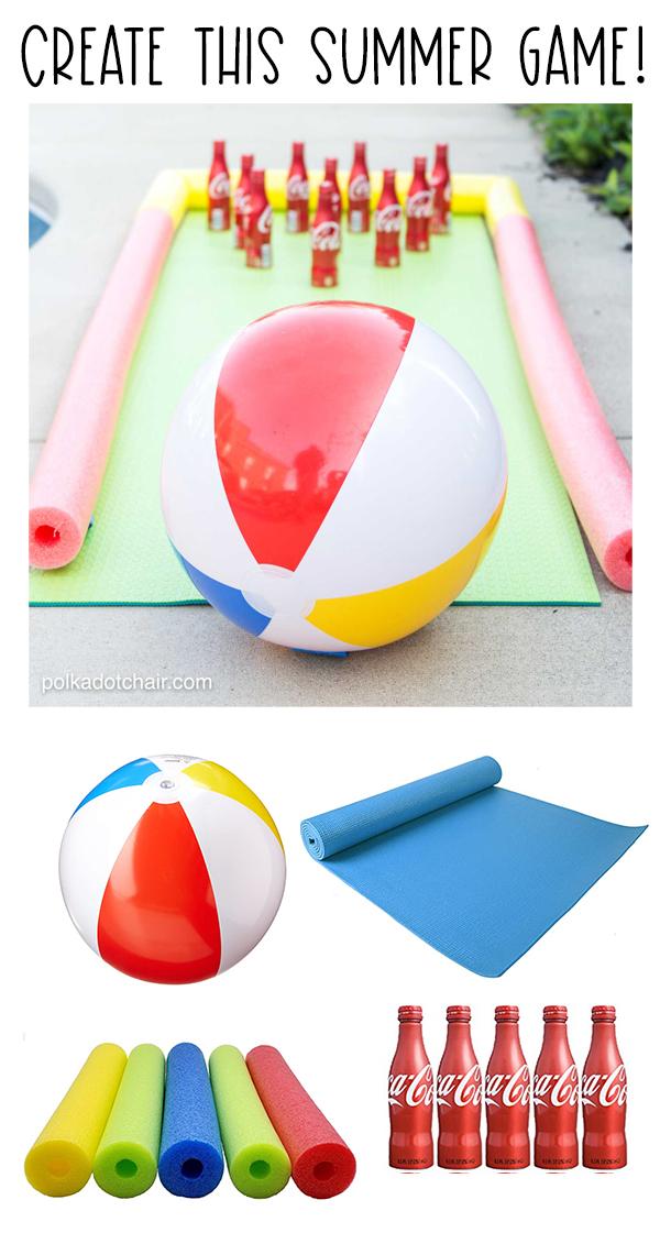 Beach Ball Summer Bowling