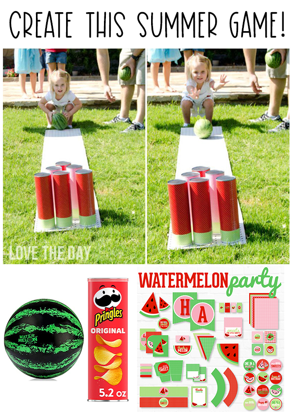 Watermelon Party Games on Love The Day