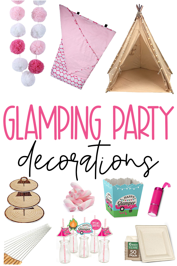 Glamping Party Ideas & Decoration on Love The Day