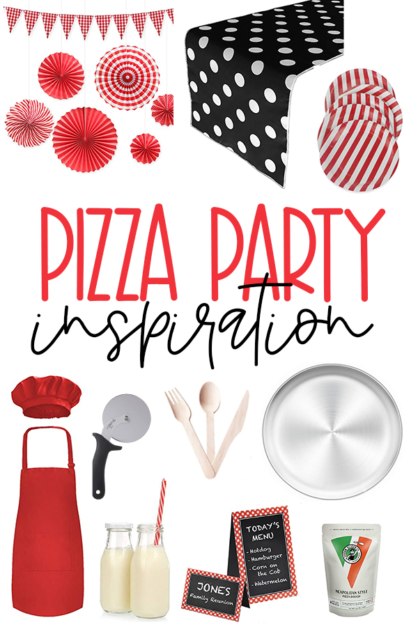Pizza Party Inspiration on Love The Day