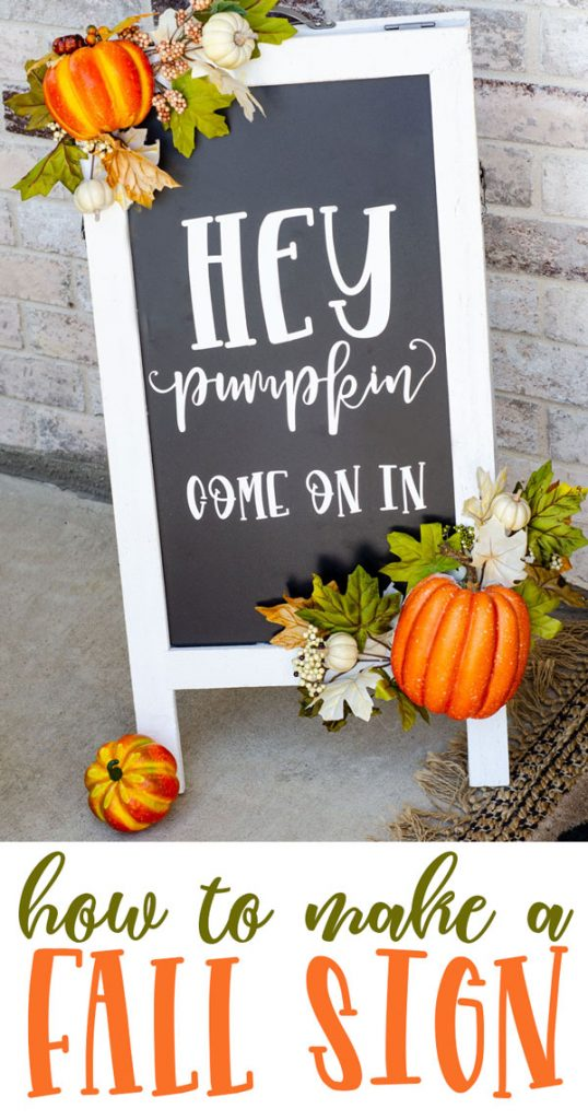 Fall Pumpkin Decor Tutorial by Lindi Haws of Love The Day