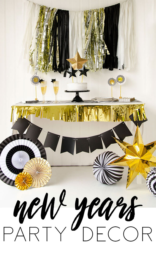 New years eve party ideas with cricut