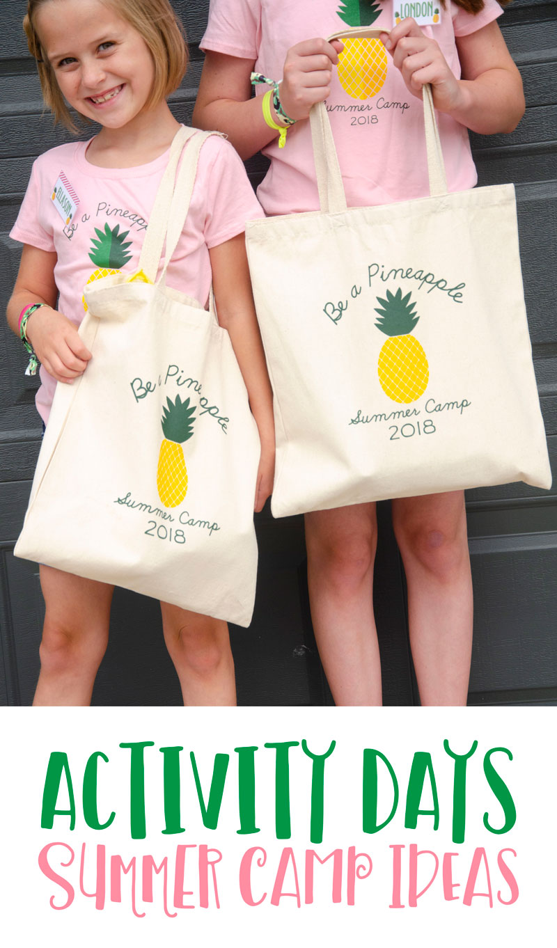 Activity Days Camp Ideas - Be A Pineapple by Lindi Haws of Love The Day